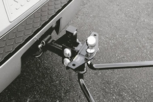 View Weight Distributing Hitch Ball Mount, Class IV (includes Class IV Hitch Ball) Full-Sized Product Image